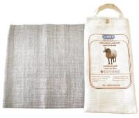 Пояс медицинский эластичный согревающий с шерстью овцы/ ALMED