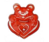 Грелка солевая термохимическая Мишка с сердцем
