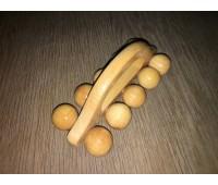 Массажер универсальный Гусеница с ручкой /10 шариков/