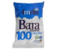 Ватные шарики Амелия 100шт.