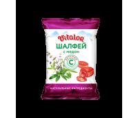 """Леденцовая карамель """"Виталор Шалфей с медом"""" с витамином С"""